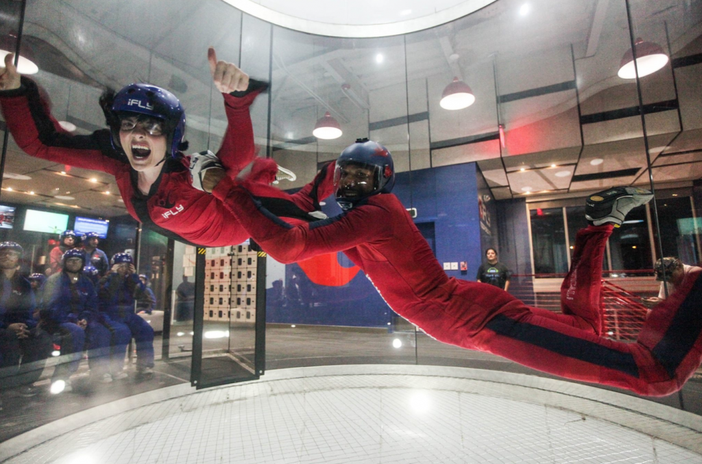 Kendra-Indoor Skydiving